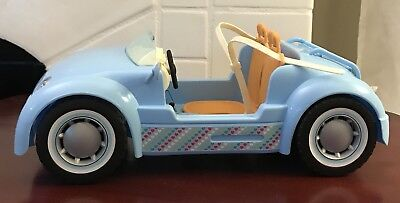 Barbie 2006 Light blue Beach Glam Cruiser Convertible Sport Car Mattel