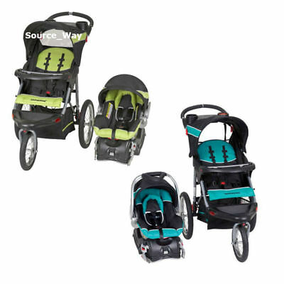 NEW Infant Car Seat Baby Trend Expedition Jogger Stroller Travel System 2 Colors