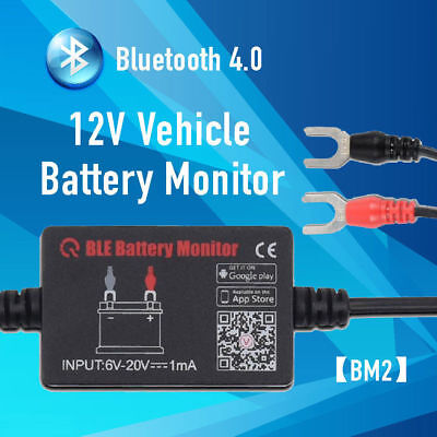 12V Car Solar Battery Tester Analyzer BM2 Bluetooth 4.0 real time monitor