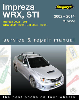 gregory s service repair manual subaru impreza wrx sti 2002 14 rh picclick co uk 2011 subaru impreza owners manual pdf 2011 subaru forester owners manual pdf