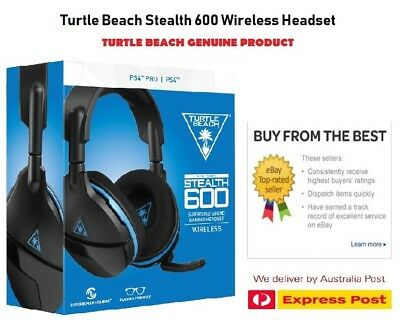 Ear Force Stealth 600 Wireless Headset PS4 Brand New EXPRESS POSTAGE