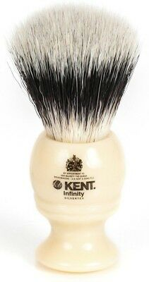 Kent Infinity INF1 Shaving Brush Fibre Synthetic Bristle Brand New Boxed