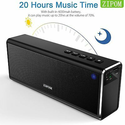 Drahtlos Tragbar Bluetooth Lautsprecher Musikbox Soundbox MP3 Mic Radio 4000mAh