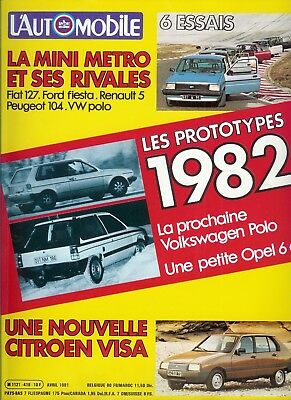 L'Automobile n°418 avril 1981