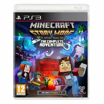 Minecraft Story Mode The Complete Adventure Playstation 3 (PS3) Brand New