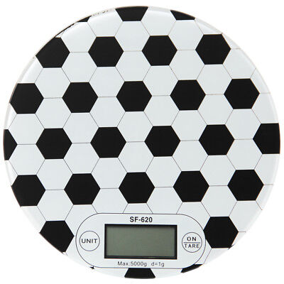 Soccer Football Electronic Digital Kitchen Food Scale Postal Scale 5kg