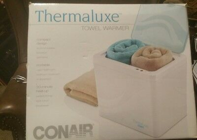 Thermaluxe Conair Towel Warmer Clothes Blanket Warmer Portable Model PTW1