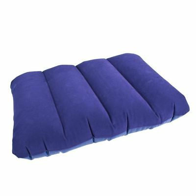 Yellowstone Inflatable Travel Camping Pillow Inflatable Head Rest Cushion Blue