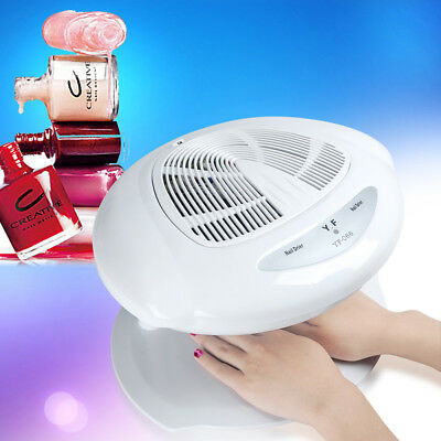 400W Nagellack Finger-Zehe-Trockner Warm& Cool Blower Fan Breeze Infrared sensor