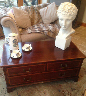 Liberty's Edwardian Inlaid Mahogany Chest of Drawers