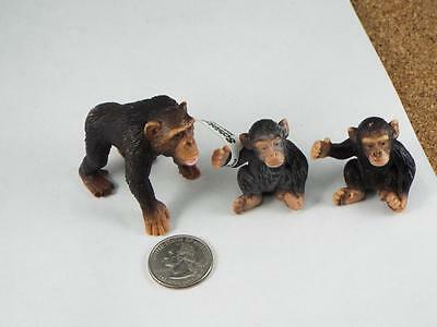 3 Chimpanzees Schleich