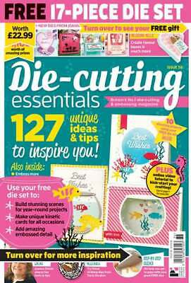 Die Cutting Essentials Magazine Issue 36 with Underwater Friends Die Set