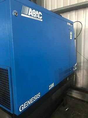 ABAC 2208 Rotary Screw Compressor Immaculate Order!