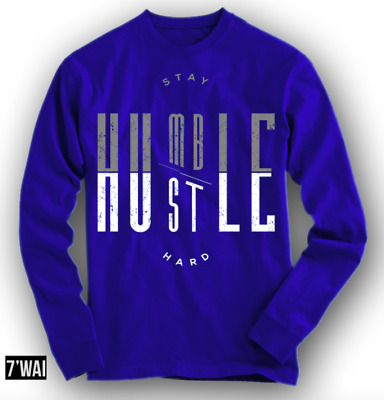 """/""""HUMBLE/"""" 12 SHIRT IN JORDANS /""""FRENCH BLUE/"""" AIR BLUE COLORWAY XII RETRO LS"""