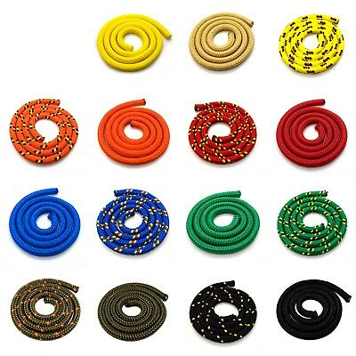 12 mm Strong Braided Polypropylene Plaited Poly Rope Cord Yacht Boat Sailing