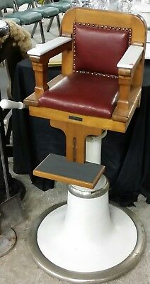 Antique Childs Emil Paidor barber chair...