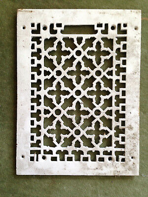 2 - Vintage Floor / Wall Heat Register Metal Vent  Antique Grates