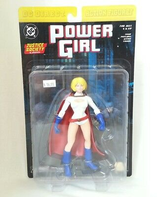 DC Direct Justice Society Of America JSA POWER GIRL Action Figure NEW