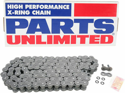 PARTS UNLIMITED 530 Pro Series Motorcycle X-Ring Chain (Natural) 116 Links