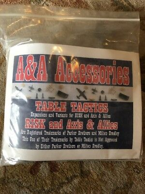 Table Tactics A&a Accessories #242 Unused On Sprues And Bag Axis Allies 275Pcs