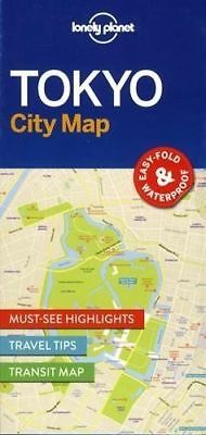 Tokyo City Map - New - Lonely Planet - 2016