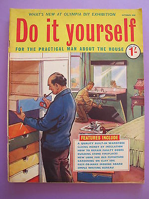 Vintage magazine do it yourself october 1961 300 picclick uk vintage magazine do it yourself october 1961 solutioingenieria Image collections
