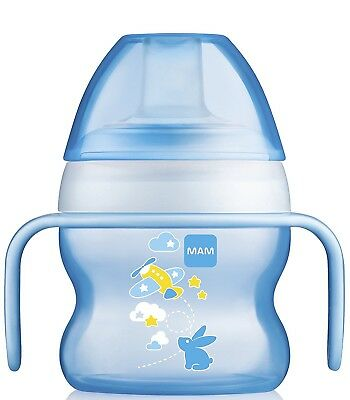 MAM Starter Cup with Handles, Boy, 5 Ounces, 1-Count