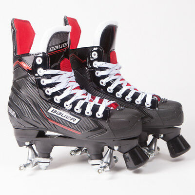 Bauer Quad Roller Skates - NSX - 2018 Model - No Wheels