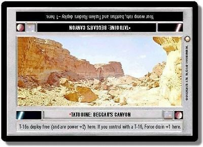 Star Wars CCG: Special Edition: Tatooine Beggars Canyon - Rare Card