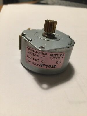 Mitsumi M42SP-5 Stepping Motor 7.5 Degree Step 6.7ohm
