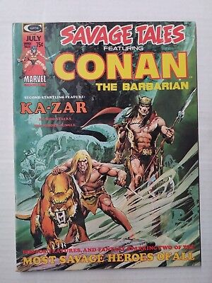 Savage Tales Featuring Conan #5 (1974), FN+ Shape, Marvel Comics, Free Shipping!