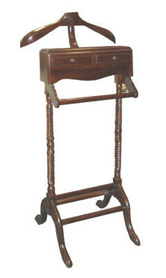 NEW Victoriana 2 Drawer Valet Stand