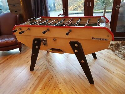 RENE PIERRE VINTAGE coin op pro French football foosball table babyfoot  cafe bar - £2,200.00   PicClick UK 6f78d41e1738
