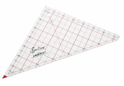 """Quilting Template Patchwork 7.5"""" Triangle Shape Cut Strips Squares 100% Acrylic"""