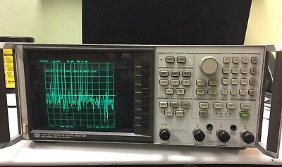 HP Agilent 8753A Vector Network Analyzer 300kHz-3GHz - USED