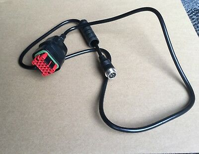 Claas S10 GPS Terminal Camera Connection Cable Tractor/Combine/Forage Harvester