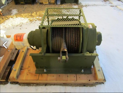 DP HYDRAULIC Winch Model 51882 55,000 lb, Capacity Industrial Hoists Rigging
