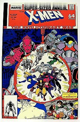"The Uncanny ""X-MEN"" Super-Sized Annual #12 (1988) (Marvel) ART ADAMS artwork"