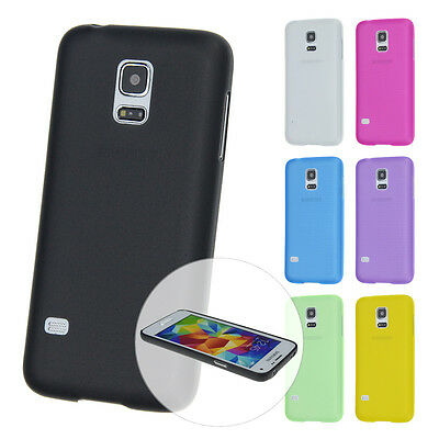 Ultraslim Case Samsung S5 Mini Safety Fine Matte Skin Case Cover Foil