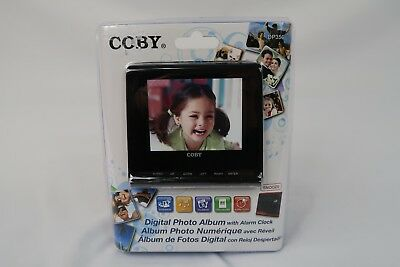 Coby Digital Photo Album and alarm clock Model DP356 New and Sealed