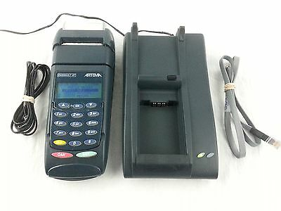 Dassault AT Artema P4432-051 Mobile POS Credit Card Reader / Terminal ~ Tested *