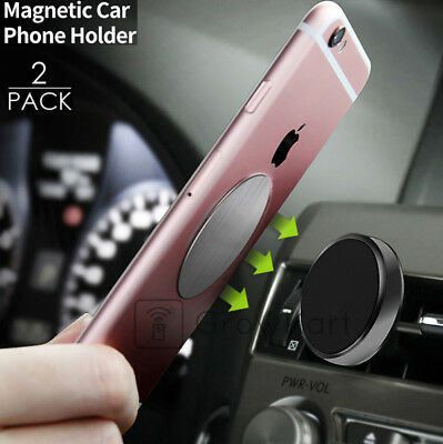 Cell Phone GPS Universal Magnetic AC Air Vent Car Mount Cradle Clip Stand Holder