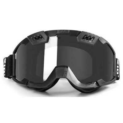 CKX - Titan 210 Tactical w/ Controlled Ventilation Silver Mirror Lens Goggles