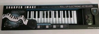 NEW Sharper Image Portable 37-Key Digital Roll Up Electronic Keyboard