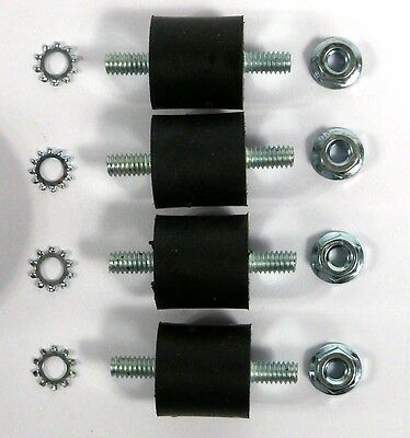Pad Driver Spring Mount Kit for Clarke OBS-18, BOS-18 10666A SET OF FOUR 4 dc