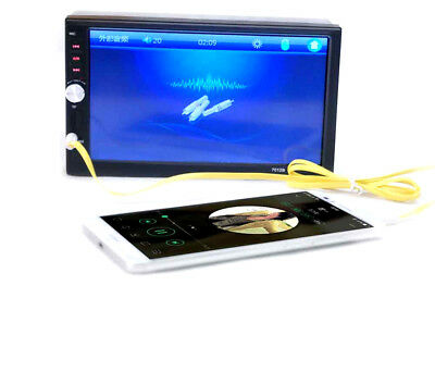 7inch 2DIN Car MP5 Player Touch Screen Bluetooth Stereo Radio HD+Rear Camera New