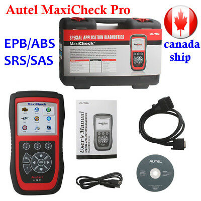 Canada Ship Autel MaxiCheck Pro EPB/ABS/SRS/SAS System OBD2 Diagnostic Scan Tool