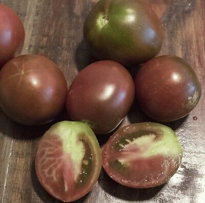 Black Prince Tomato Seeds, Russian Heirloom tomato from Siberia