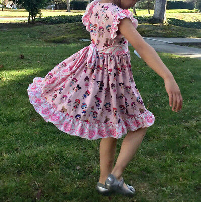 LOL Surprise Doll Twirly Ruffled Soft Dress 4T
