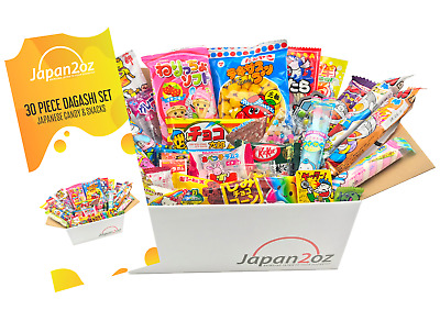 NEW! 30 PIECE JAPANESE CANDY SET Japanese Snack Gum Gift Box FREE AIRMAIL